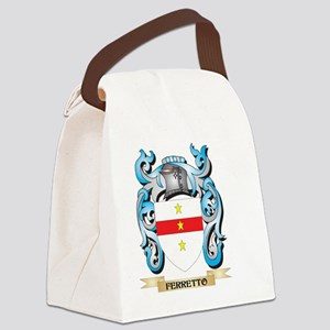 Ferretto Coat of Arms - Family Cr Canvas Lunch Bag