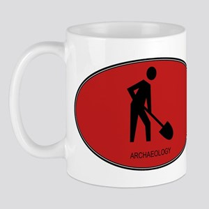 Archaeology (euro-red) Mug