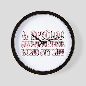 Spoiled Aussie Wall Clock