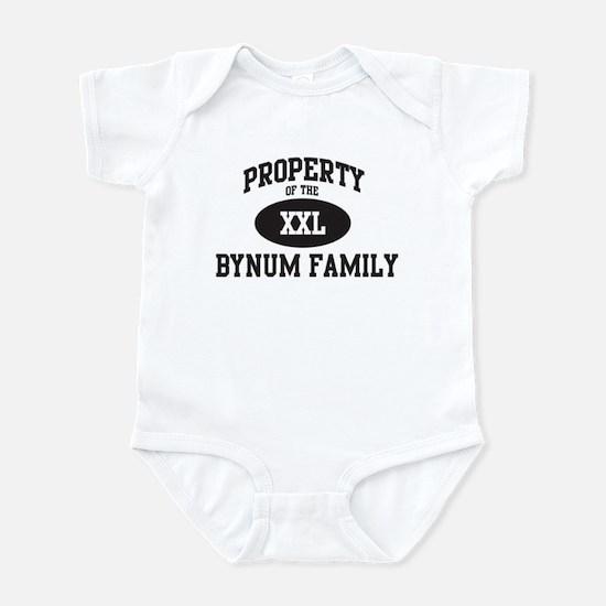 Property of Bynum Family Infant Bodysuit