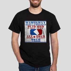 National Team, Flip cup all s Ash Grey T-Shirt