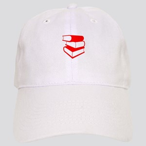Stack Of Red Books Cap