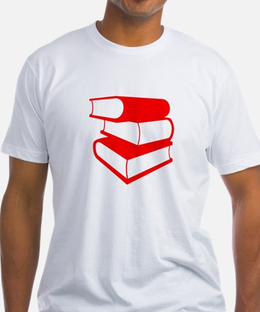 Stack Of Red Books Shirt