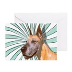 Great Dane Greeting Cards (Pk of 10)