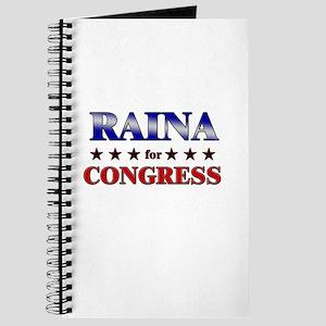RAINA for congress Journal
