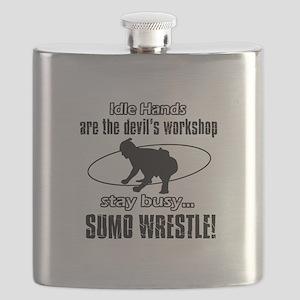 Stay Busy Sumo Wrestle Flask
