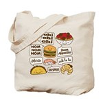 Talking Food Tote Bag