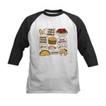Talking Food Baseball Jersey