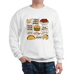 Talking Food Sweatshirt