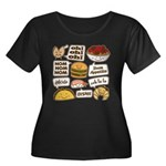 Talking Food Plus Size T-Shirt