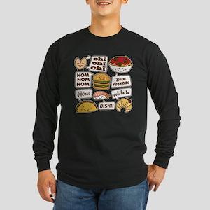 Talking Food Long Sleeve T-Shirt