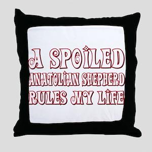 Spoiled Anatolian Throw Pillow