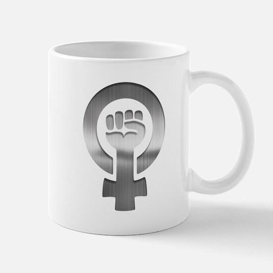 Feminist Fist Metal Mug