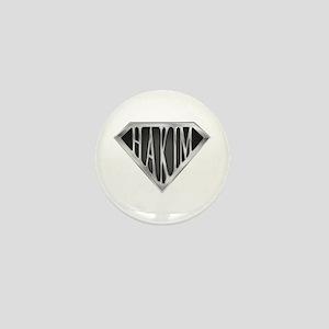SuperHakim(metal) Mini Button