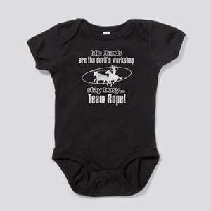 Stay Busy Tearm Rope Baby Bodysuit