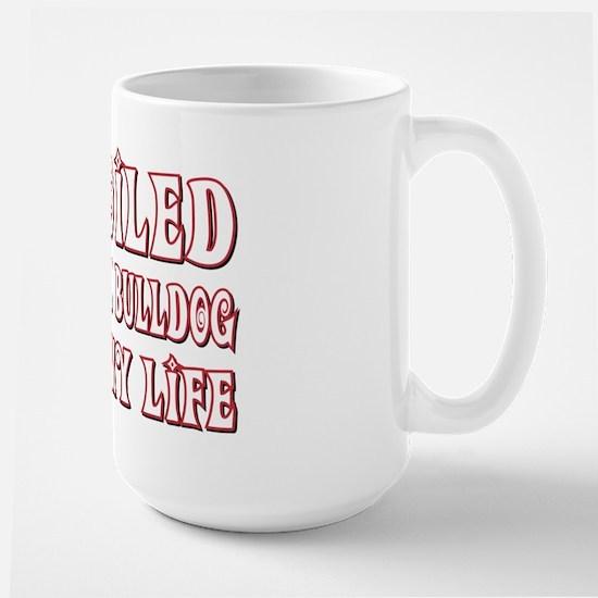 Spoiled Bulldog Large Mug