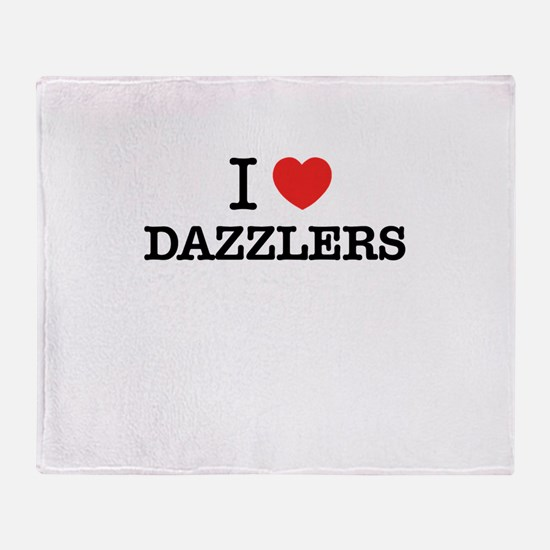 I Love DAZZLERS Throw Blanket