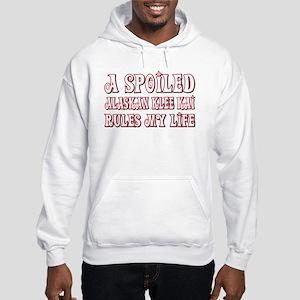 Spoiled Klee Kai Hooded Sweatshirt