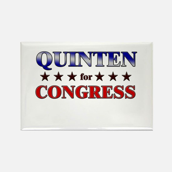 QUINTEN for congress Rectangle Magnet