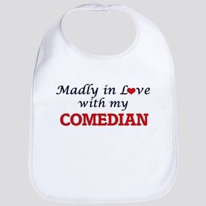Madly in love with my Comedian Bib