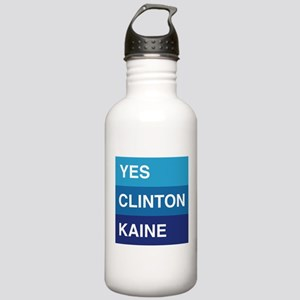 YES Clinton Kaine Water Bottle