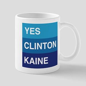 YES Clinton Kaine Mugs