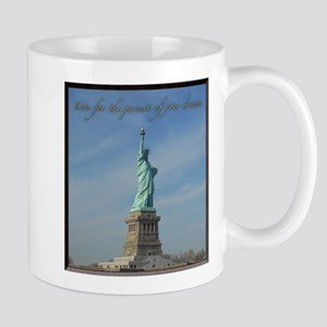 Lady Liberty Dream Mugs