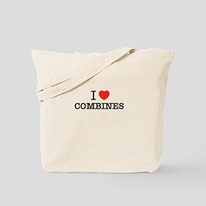 I Love COMBINES Tote Bag