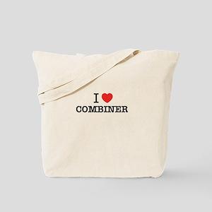 I Love COMBINER Tote Bag