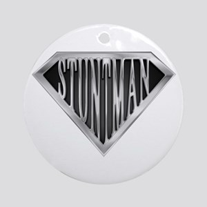 SuperStuntman(metal) Ornament (Round)