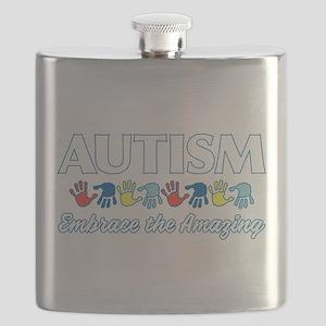 Autism Embrace the Amazing Flask