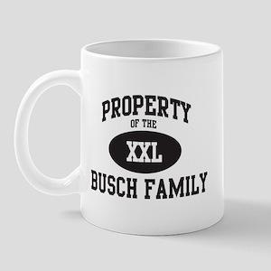 Property of Busch Family Mug