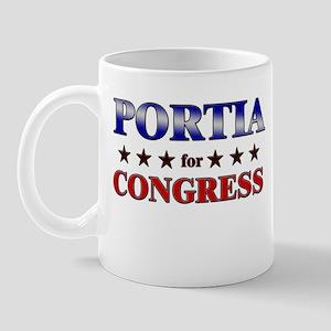 PORTIA for congress Mug