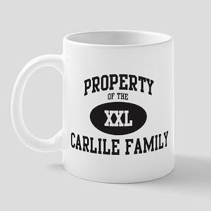 Property of Carlile Family Mug