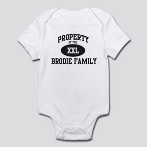Property of Brodie Family Infant Bodysuit