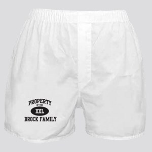 Property of Brock Family Boxer Shorts