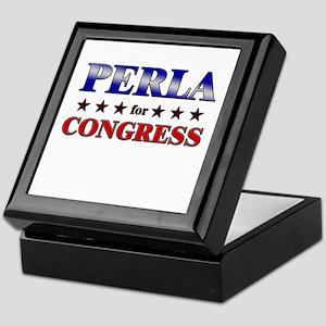 PERLA for congress Keepsake Box