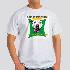 Lightbulb Head Lager Ash Grey T-Shirt