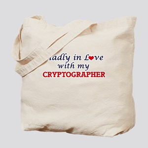 Madly in love with my Cryptographer Tote Bag