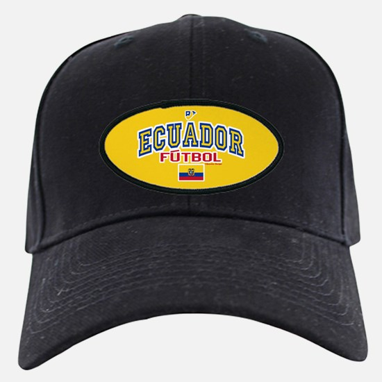 Ecuador Futbol/Soccer Baseball Hat
