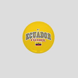 Ecuador Futbol/Soccer Mini Button