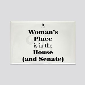 A Woman's Place is in the House and Senate Magnets