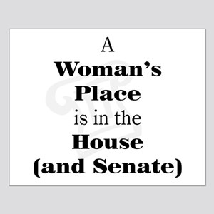 A Woman's Place is in the House and Senate Posters