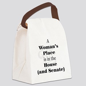 A Woman's Place is in the House and Senate Canvas
