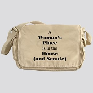 A Woman's Place is in the House and Senate Messeng