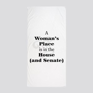 A Woman's Place is in the House and Senate Beach T