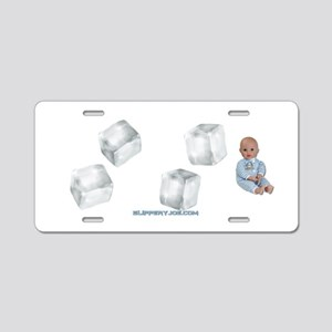ice baby Aluminum License Plate