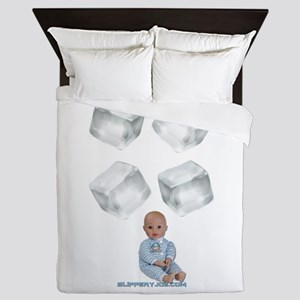 ice baby Queen Duvet