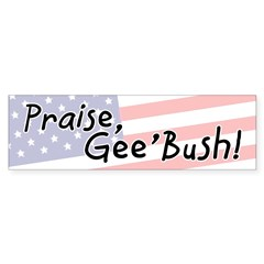 Gee'Bush Bumper Bumper Sticker