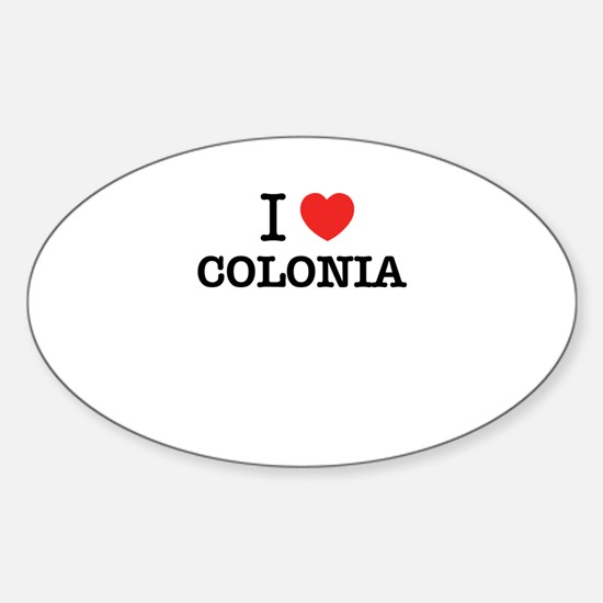 I Love COLONIA Decal